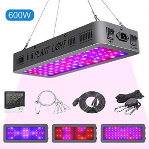 600W LED Grow Light Double On/Off Switch Full Spectrum Grow Lamp