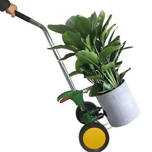Plant Dolly with Flat Free Wheels Potted Plant Mover for Garden Potted