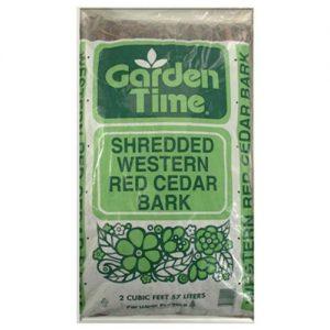 Gro Well Brands Cp 2 Cuft, Shredded Western Red Cedar Mulch