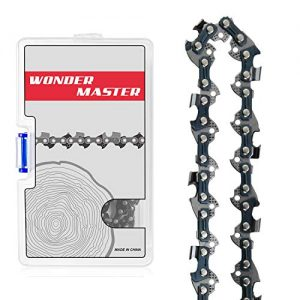 "WONDER MASTER 16 Inch Chainsaw Chains 1Pack - 3/8"" Low Pitch"