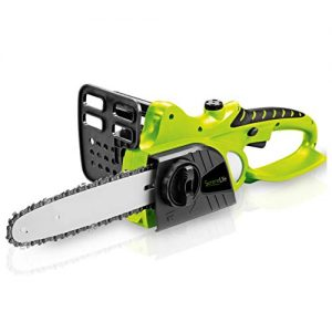 SereneLife Cordless Chainsaw - 18V Electric Home Garden Chain-Saw Cutter