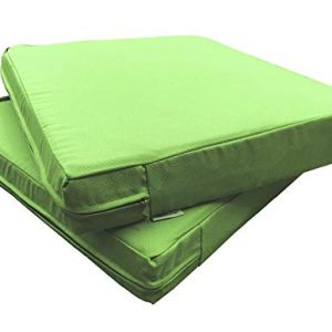 QQbed 2 Pack Outdoor Patio Deep Seat Memory Foam (Seat and Back)
