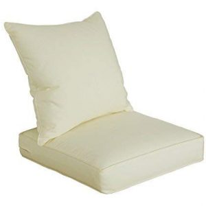 SewKer] Indoor/Outdoor Patio Deep Seat Cushion Set Simple Modern