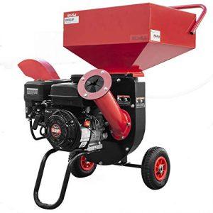 XtremepowerUS 6.5HP Multifunction Chipper Shredders Gas Powered