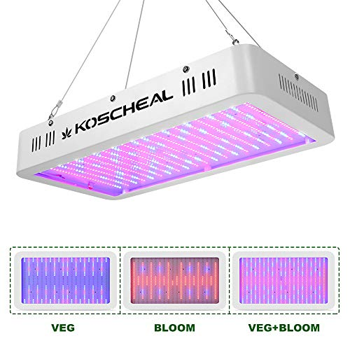 2000W LED Grow Light Full Spectrum, Plant Grow Light with Veg and Bloom Switch
