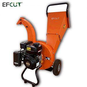 EFCUT C30 Mini Wood Chipper Shredder Mulcher 7 HP 212cc Heavy Duty