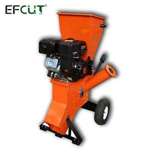 EFCUT B40E Wood Chipper Shredder Mulcher 15HP 420cc Super Heavy Duty