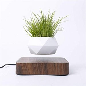 Levitating Air Bonsai Pot Rotation Flower Pot Planters Magnetic Levitation