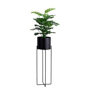 JOANNA'S HOME Plant Stand Tall Plant Pot with Stand Indoor Outdoor Decor