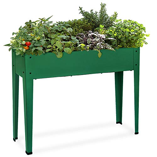 Raised Garden Bed for Vegetables Elevated Planter Box with Legs Outdoor Patio