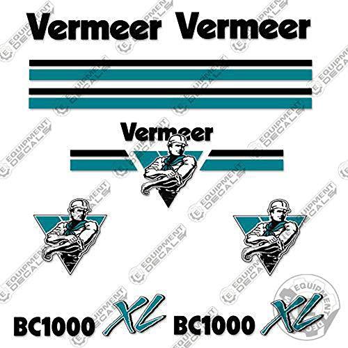 Vermeer BC 1000 XL Wood Chipper Decal Kit
