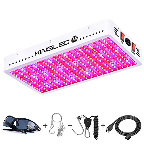 King Plus 3000W LED Grow Light Full Spectrum for Greenhouse and Indoor Plant