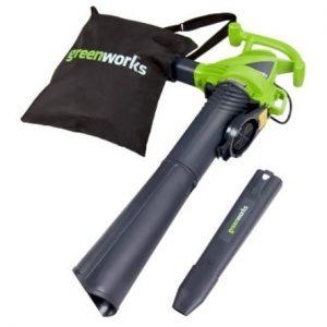 Greenworks 2 Speed 230 MPH Electric Leaf Blower/Vacuum