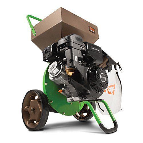 Earthquake Tazz Chipper Shredder, 301cc Gas Powered 4-Cycle Viper Engine