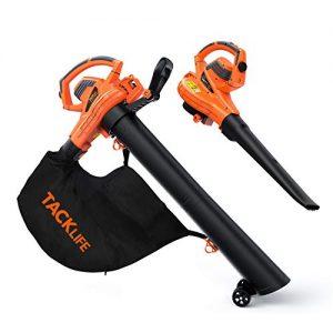 TACKLIFE 3 in 1 Leaf Blower/Vacuum/Mulcher, 12 Amp Blower