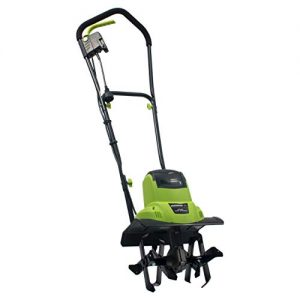 Earthwise 6.5-Amp 11-Inch Corded Electric Tiller/Cultivator, Green