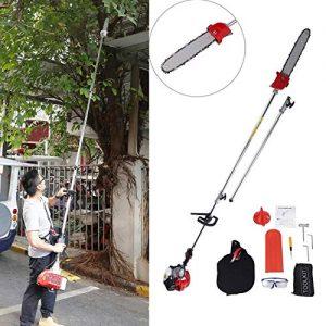 BEAMNOVA Pole Saw Kit for Tree Trimming Gas Powered Cordless Chainsaw