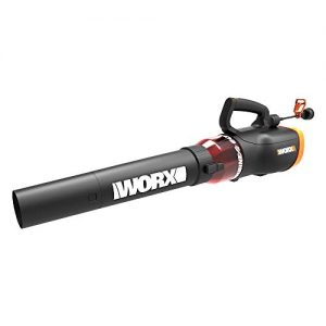 WORX Turbine 600 Corded Electric Leaf Blower, Black
