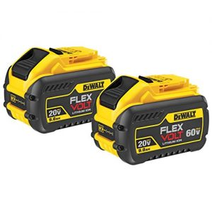 DEWALT 20V/60V MAX FLEXVOLT 9Ah Battery, 2 Pack