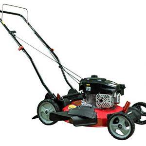 PowerSmart Gas Push Lawn Mower, Red/Black