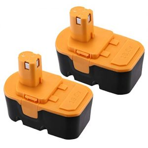Powerextra Ryobi 18V Replacement Battery Upgraded 3700mAh Ni-Mh Battery