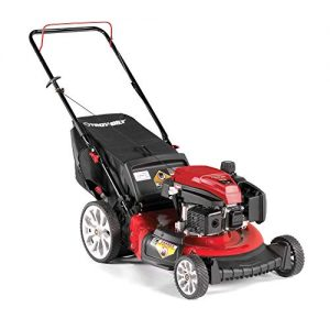 Troy Bilt 21 Inch 159cc Gas Mulching Push Walk Behind Lawn Mower