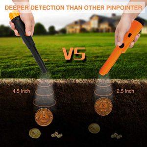 SUNPOW Metal Detector Pinpointer IP68 Water Resistant Handheld Pin Pointer