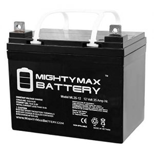 Mighty Max Battery 12V 35Ah Battery Replaces John Deere Lawn Tractor-Riding
