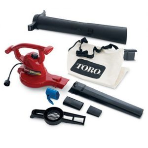 Toro Ultra Electric Blower Vac, 250 mph, Red (Renewed)