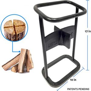 EasyGoProducts Jack-The 4 Way Firewood Kindling Tool - Wood Log Splitter