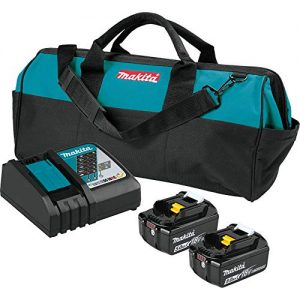 Makita 18V LXT Lithium-Ion Battery and Rapid Optimum Charger Starter Pack