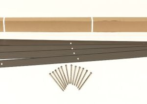 Dimex EasyFlex Aluminum Landscape Edging Project Kit, Will Not Rust Like Steel