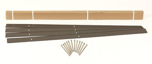 Dimex EasyFlex Aluminum Landscape Edging Project Kit, Will Not Rust Like Steel