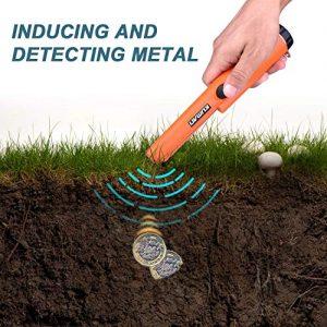 Kuman Pin pointer Water Resistant Metal Detectors with Holster Treasure Hunting
