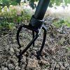 Urban Deco Twist Tiller Garden Claw Cultivator Manual Tiller Garden Claw