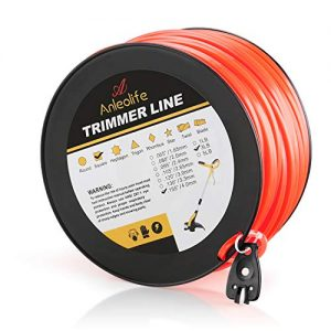 Anleolife 3-Pound Commercial Square .155-Inch-by-280-ft String Trimmer Line