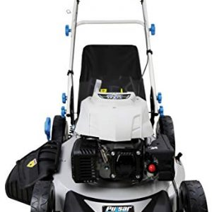 "Pulsar 3-in-1 Self-Propelled 21"" 173cc Gas Recoil Start Walk Behind Lawn Mower"