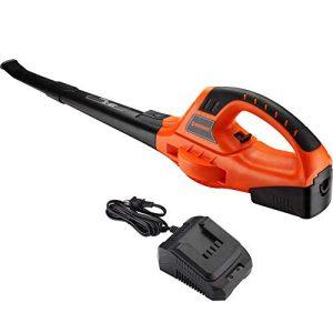 Homestock 18V MAX 130 MPH Leaf Blower Handheld Lithium Cordless Sweeper
