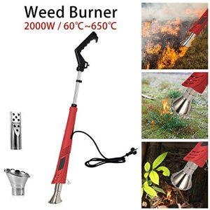 Electric Weed Burner, Weed Killer, Thermal Weeding Stick, Barbecue Igniter
