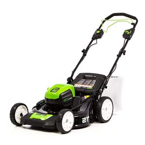 Greenworks PRO 21-Inch 80V Self-Propelled Cordless Lawn Mower
