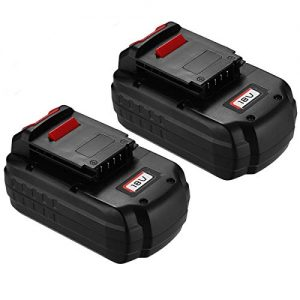 Upgraded Powerextra 2 Pack 18V 3.7Ah Replacement Battery Compatible