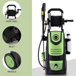 Suyncll 3800 PSI 2.8GPM Electric Pressure Washer Electric Power Washer