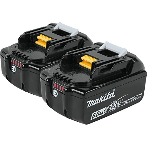 Makita 18V LXT Lithium-Ion 6.0 Ah Battery (2 Pack)