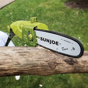 Sun Joe 10 inches 8-Amp Multi-Angle Telescopic Electric Pole Chain Saw
