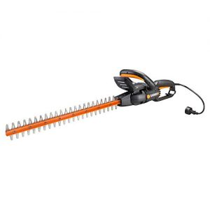 """WORX 4.5 Amp 24"""" Rotating Head Electric Hedge Trimmer, 24 inches, Black"""