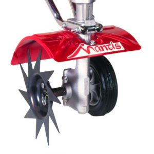 Mantis Power Tiller Border Edger Attachment for Gardening