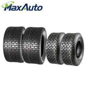 MaxAuto 16x6.5-8 & 22x9.5-12 Lawn Mower Tires