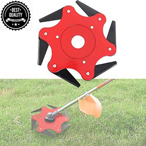 Steel Trimmer Head, Premium Universal Trimmer Head 6 Steel Blades Razors