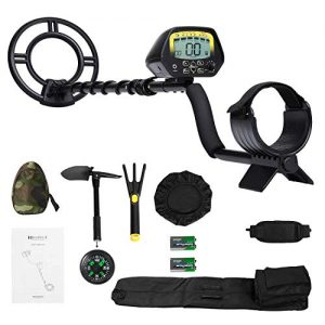 MARNUR Metal Detector for Kids and Adults with Pinpoint Waterproof Search