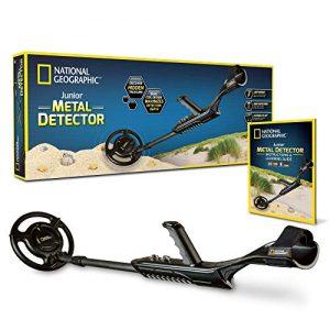 NATIONAL GEOGRAPHIC Junior Metal Detector -Adjustable Metal Detector
